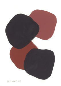 Monika Gojer, water brown anthracite