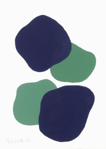 Monika Gojer, water forestgreen violet, 2017