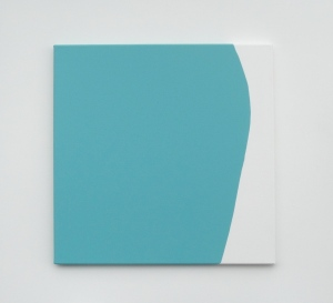 Monika Gojer, touching thoughts turquoise, 2017