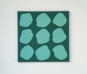 Monika Gojer, communication pool turquoisegreen, 2017